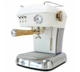 Machine expresso Ascaso Dream Blanche finition Bois