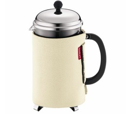 Cafeti�re � Piston Bodum Chambord 1.5L + Housse en n�opr�ne
