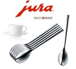 Set de 6 cuill�res � caf� Jura