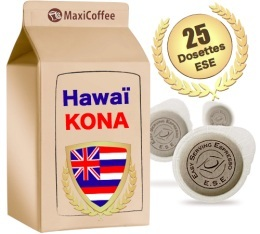 Dosette Café Hawaï Kona x 25 dosettes ESE