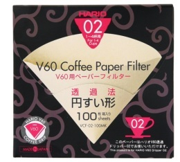 Filtres pour V60 Dripper 1/4 Tasses X100