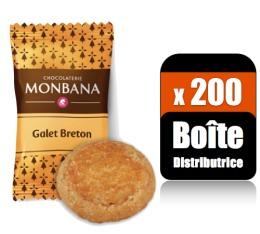 200 Mini-galets Bretons (Bo�te distributrice) - Monbana