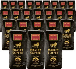 24 x Café moulu Marley Coffee - 227 g - One Love