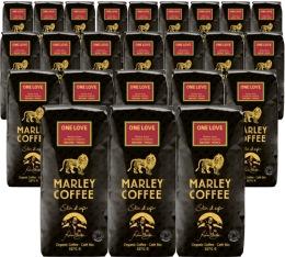 24 x Café en grains Marley Coffee - 227 g - One Love