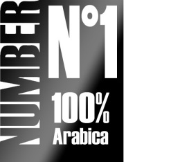 Caf� en grains Number N�1 - 100% Arabica - 1kg