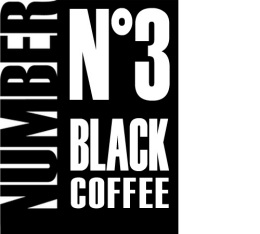 Café en grains Number N°3 Black Coffee 100% Arabica - 1kg