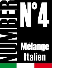 Caf� en grains Number N�4 - M�lange italien - 1kg