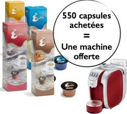 55 bo�tes de Capsules Caffitaly = une Machine � Capsules Caffitaly Murex Offerte !