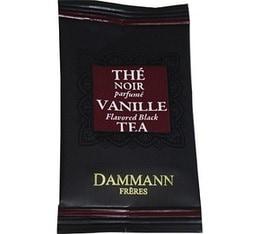 Thé Vanille Dammann Frères - boîte de 24 sachets Cristal