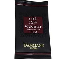 Th� Vanille Dammann Fr�res - bo�te de 24 sachets Cristal
