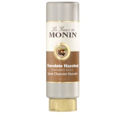 Topping Coulis Chocolat Noisette Monin x 500 ml