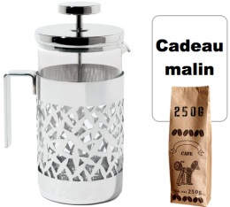 Cafeti�re � piston Cactus LugatPack design�e par Marta Sansoni et LPWK - Alessi - 6 tasses