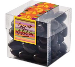 Amandes chocolat noir - 150g - Schaal Chocolatier