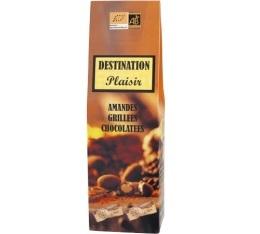 Amandes chocolat�es Bio (envelopp�es individuellement) Destination - 100 gr