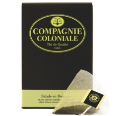 Th� Oolong Balade en Bretagne Compagnie Coloniale x 25 Berlingo�