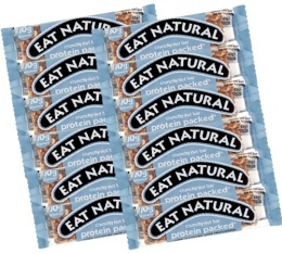 12 Barres gourmandes Protein (cacahu�tes, noix de coco, etc.) - Eat Natural