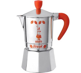 Cafetière italienne Bialetti Break orange 3 tasses