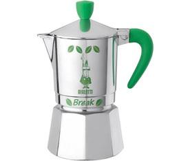 Cafetière italienne Bialetti Break verte 3 tasses