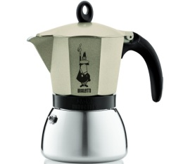 Cafetière italienne induction Bialetti Moka Express dorée - 6 tasses
