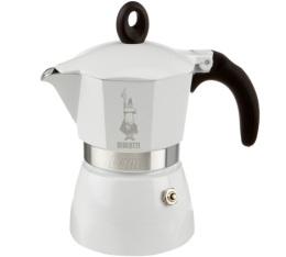 Cafeti�re italienne Bialetti Dama White Lucida - 3 tasses