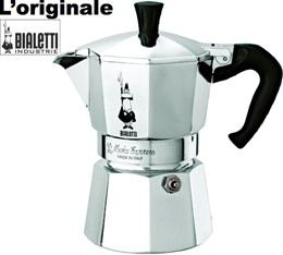 Cafeti�re italienne Bialetti Moka Express - 6 tasses