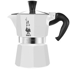 Cafeti�re italienne Bialetti Moka Express blanche - 3 tasses