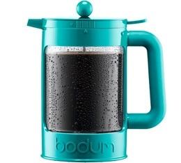 Cafeti�re � piston Bodum Bean Color verte pour caf� glac� 150cl