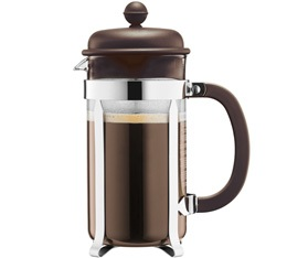 Cafetière à Piston Bodum Color Caffettiera 1L Marron
