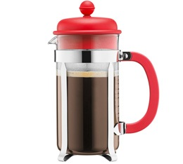 Cafetière à Piston Bodum Color Caffettiera 1L Rouge