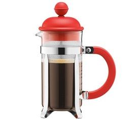 Cafetière à Piston Bodum Colour Caffettiera Rouge 0.35cl