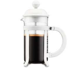 Cafeti�re � piston Bodum Java Blanc cr�me 35cl