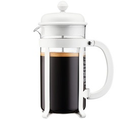 Cafeti�re � piston Bodum Java Blanc cr�me 1L