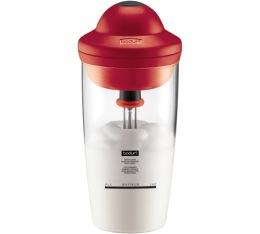 Mousseur � lait �lectrique rouge Latte 20 cl - Bodum