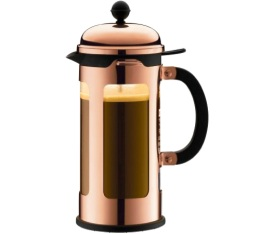 Cafeti�re � Piston cuivr�e New Chambord 35 cl - Bodum