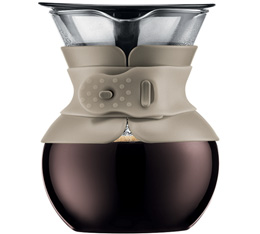 Cafeti�re filtre Bodum Pour Over Color beige - 4 tasses