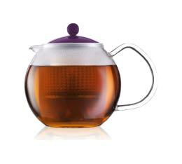 Théière Bodum Assam Color violette - 50 cl