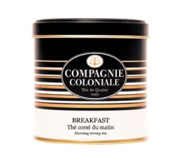 Boite Compagnie Coloniale Thé noir Breakfast - 150 gr