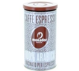 Caf� 100% arabica moulu en boite de 250gr - Mokador Castellari
