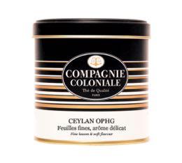 Boite Compagnie Coloniale Thé noir Ceylan OPHG - 100 gr