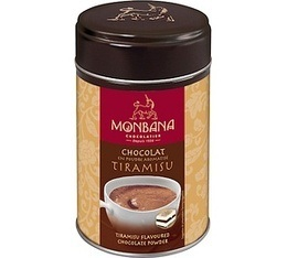 Chocolat en poudre aromatis� Tiramisu 250 g - Monbana
