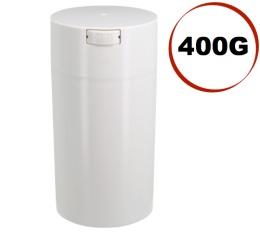 Boite conservatrice avec vide d'air Tightvac - 400gr/1.3L blanche