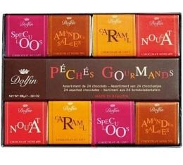 Boite de 24 Chocolats P�ch�s Gourmands - Dolfin