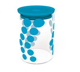 Boîte DOT DOT Zak! Designs en verre - Bleue - 900 ml
