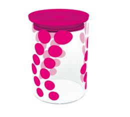 Bo�te DOT DOT Zak! Designs en verre - Fuschia - 900 ml