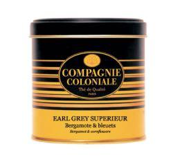Boite Compagnie Coloniale Thé noir Earl Grey Supérieur - 120 gr