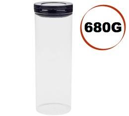 Boite � caf� herm�tique Fliplock Oxo - 680g/2.3L en verre transparent