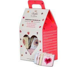 Boîte assortiment Love - Napolitain 6 saveurs - 250g - Dolfin