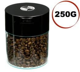 Boite conservatrice avec vide d'air Tightvac - 250gr/0.8L noire et transparente