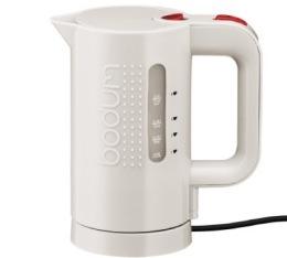 Bouilloire �lectrique Bodum Bistro blanc cr�me 0,5L