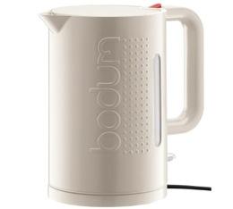 Bouilloire �lectrique Bodum Bistro blanc cr�me 1,5L